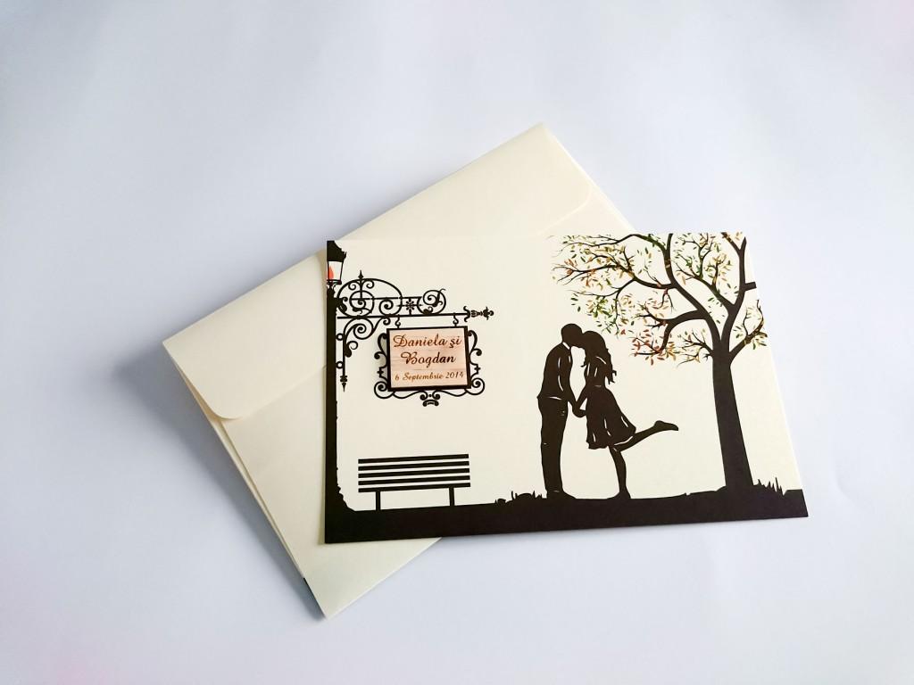 Invitatii nunta de toamna