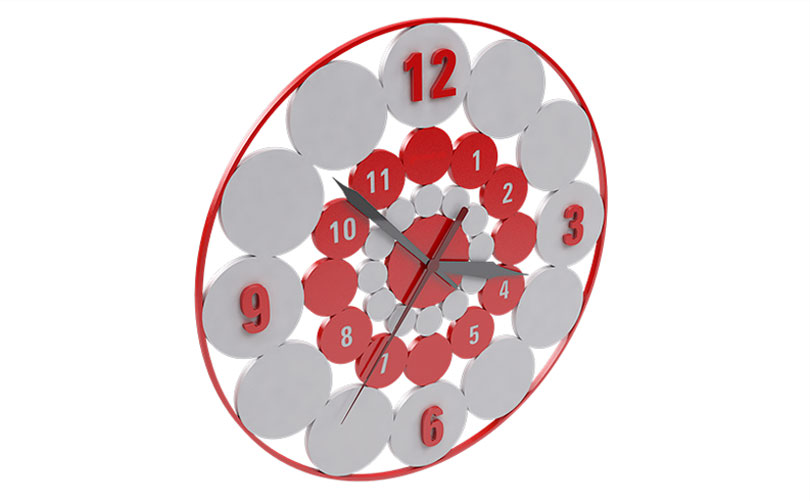 Ceasuri de perete realizate la comanda