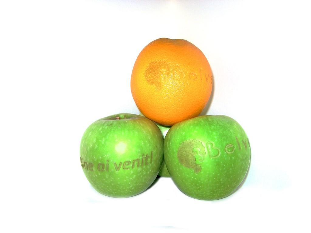 Cadou inedit - fructe personalizate