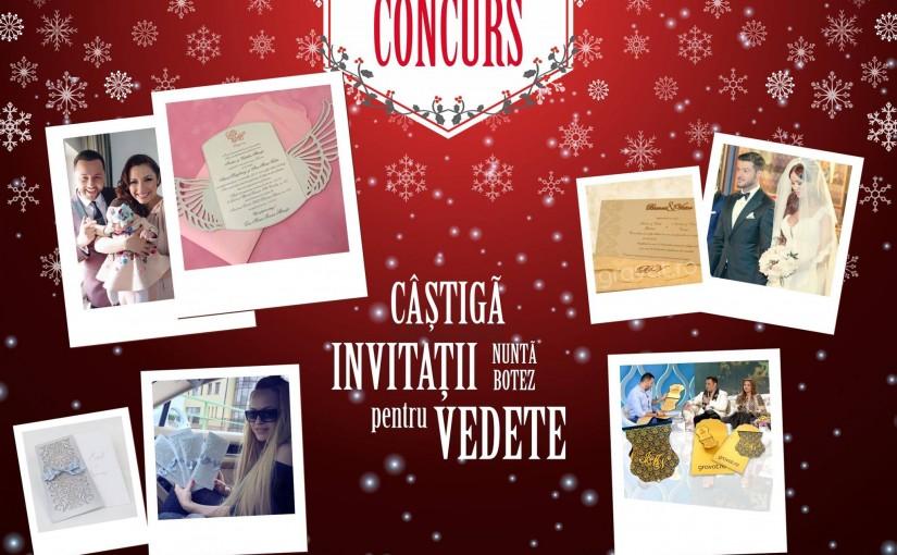 Concurs Invitatii nunta gravat.ro